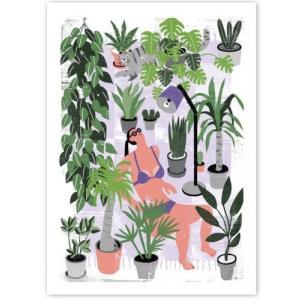 human empire botanical summer poster 50x70cm ha116542822 hafen. Black Bedroom Furniture Sets. Home Design Ideas