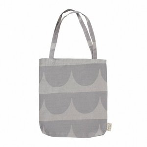 HOUSE OF RYM | THE WAVE GRAY TOTE BAG (no.2094) | トートバッグ|hafen