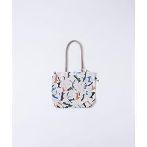 【SALE セール】Tricote | 綿ペイントミニトート (orange) | バッグ|hafen