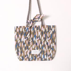 Tricote | 綿ドットレインミニトート (brown) | バッグ|hafen
