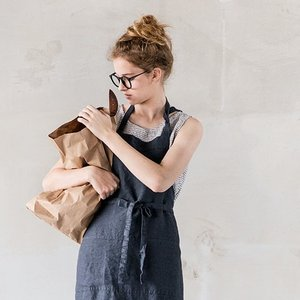 not PERFECT LINEN | WASHED TRADITIONAL LINEN APRON...
