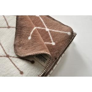 bastisRIKE | THE GRID - COTTON BLANKET (brown) | ブランケット|hafen|02