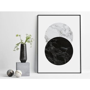 PROJECT NORD | FULL MOON | アートプリント/ポスター (50x70cm)|hafen