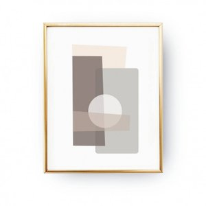 LOVELY POSTERS | TEXTURED RECTANGLE ART PRINT | A3 アートプリント/ポスター【北欧 シンプル おしゃれ】|hafen