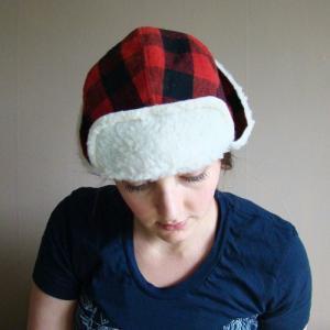 FRANK&GERTRUDE | Lumberjack hat in Red and Black Plaid | 赤x黒 | Sサイズ|hafen