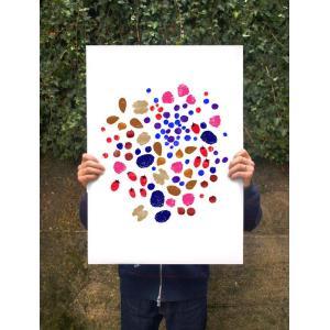 ANEK | BERRIES&NUTS - FOOD PRINT | アートプリント/ポスター (50x70cm)