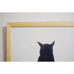 【A4】A.P.J. | ステインフレーム | 木製額縁 | A4サイズ (natural)|hafen|02
