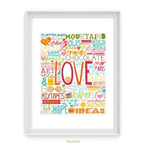 THE LOVE SHOP | 50 REASONS TO BE HAPPY (Rainbow of...