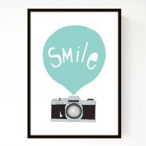 SEVENTY TREE   SMILE MINT   アートプリント/ポスター (30x40cm) hafen