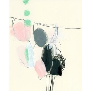 DUEALBERI | PINK GREY ABSTRACT | A3 アートプリント/ポスター|hafen