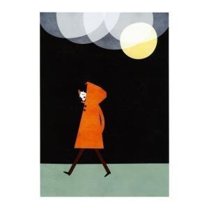 BLANCA GOMEZ | RAINY NIGHT | A4 アートプリント/ポスター|hafen