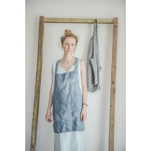 【ネコポス送料無料】not PERFECT LINEN | SHORT SQUARE CROSS L...