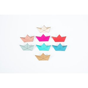 nicenicenice   PAPERBOAT BROOCH   ブローチ hafen