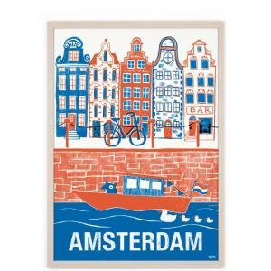 human empire amsterdam 2 poster 50x70cm ha95499927. Black Bedroom Furniture Sets. Home Design Ideas