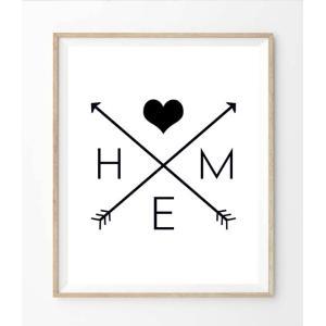 【ネコポス送料無料】THE LOVE SHOP | HOME | A4 アートプリント/ポスター|hafen