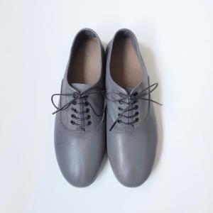 minan polku | soft balmoral shoes (grey) | 39サイズ/24.5cm|hafen