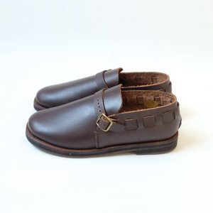 minan polku | belt slip-on (dark brown) | 38サイズ/24cm|hafen