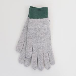 meri ja kuu | 氷の浮き輪 手袋 (gray/green) | 手袋|hafen