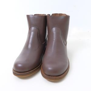 minan polku | side zip boots (d.brown) | ブーツ 38 (24cm)|hafen