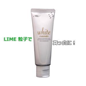 美白用薬用歯磨き ジーシー ルシェロ歯みがきペーストホワイト