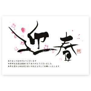 私製年賀はがき 10枚   2020 年賀状 ねずみ 子年  NE-04|hagaki