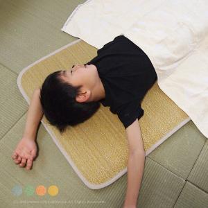 い草子供マットレス シャイン 約60×120×2cm  い草マットレス キッズ お昼寝 保育園 夏用...
