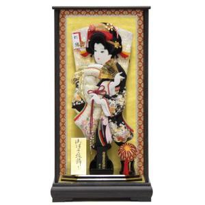 羽子板 ケース入り 金駒刺しゅう春陽(TO2302) 18号...