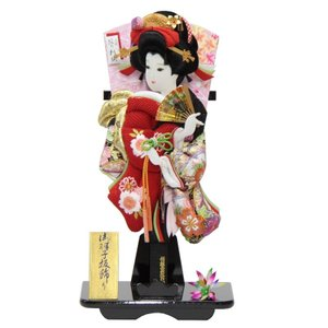 羽子板 台飾り 極上刺しゅう桜の舞 (TO2104) 18号...