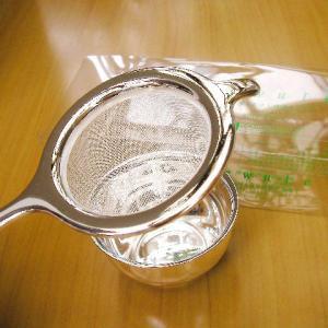受け皿付きティーストレーナー デュール(茶こし)|hagurachaya2