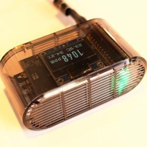 [送料込]液晶・wifi付き ポケットCO2センサー Pro 二酸化炭素モニター|hagurachaya2