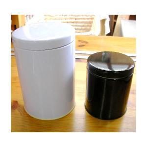 大型キャニスター(白)防湿缶(150〜250g用)|hagurachaya2
