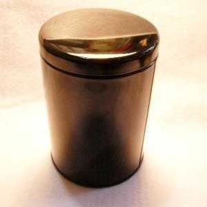 大型キャニスター(黒)防湿缶(150〜250g用)|hagurachaya2