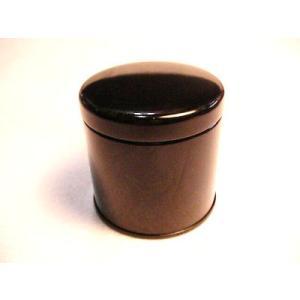 紅茶キャニスター小(黒)防湿缶(25g用)|hagurachaya2