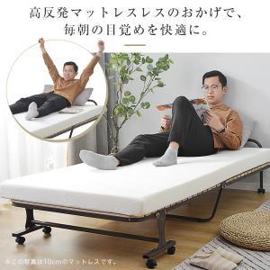 高反発マットレス ダブル 10cm 25D 120N寝具 洗える カバー 丸洗い 床敷きOK 敷き布団 ベットマット ふとん|hahaprice|03