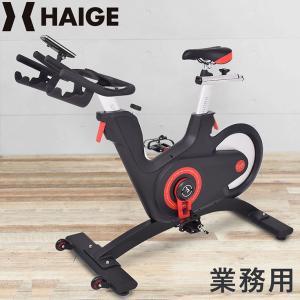 スピンバイク ハイガー フィットネスバイク 渦電流 HG-Y800 【送料無料|1年保証】 エアロバイク ダイエット|haige