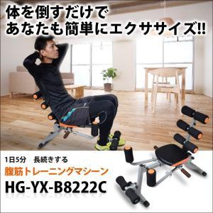 腹筋トレーニングマシーン 腹筋背筋 シェイプアップに効果 HG-YX-B8222C|haige