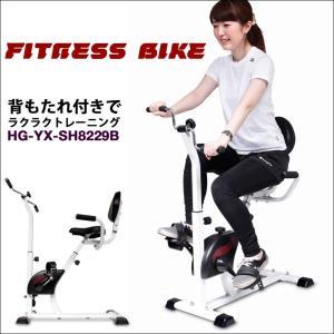 背もたれ付き フィットネスバイク HG-YX-SH8229B (1年保証)|haige