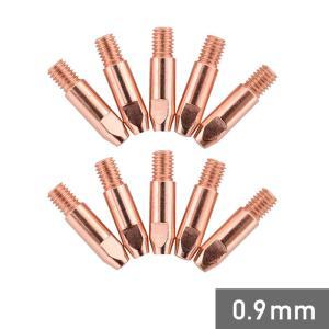 溶接機 コンタクトチップ 0.9mm 5個 セット 半自動 HG-MAGMMA-100A YS-MIG100 用 TIP09MMN-SET05|haige