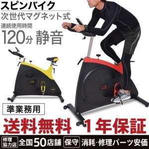 スピンバイク HG-Y700 磁力式負荷 マグネット式負荷 エアロ フィットネス バイク 無音 静音 準業務用 トレーニング バイク|haige
