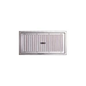 宇佐美工業 ステンレススライド式床下換気孔 アミ付 S YSD1530-SM|haikanbuhin