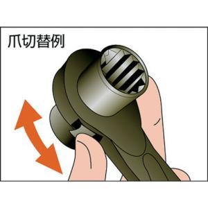 スーパー 両口ラチェットレンチ(爪式)六角対辺...の詳細画像1