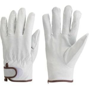 TRUSCO マジック式手袋豚本革製 Lサイズ JK-717-L ( JK717L ) haikanshop