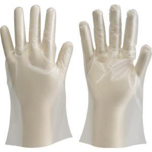 TRUSCO ポリエチレン製使い捨て手袋 Mサイズ (100枚入) DPM-1833-M ( DPM1833M ) haikanshop
