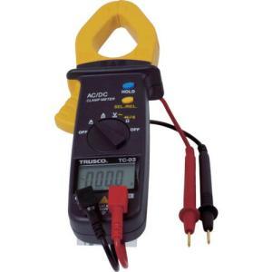 [特長] ●直流・交流の電流・電圧、抵抗、導通、ダイオードチェックのできるクランプメーターです。 [...