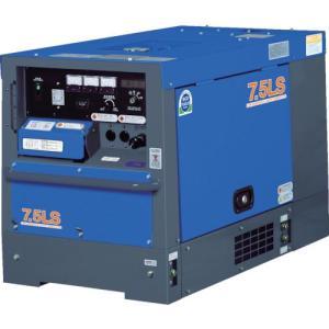 デンヨー 防音型ディーゼルエンジン発電機 TLG-7.5LSK ( TLG7.5LSK )|haikanshop