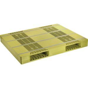 NPC プラスチックパレットZR−110140E 両面ニ方差し ライトグリーン ZR-110140E...