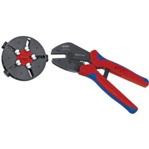 KNIPEX 9733−01 マルチクリンプ マガジン付圧着工具 9733-01 ( 973301 )|haikanshop