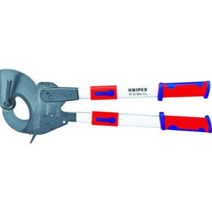 KNIPEX 9532−060 ラチェット式ケーブルカッター 600mm 9532-060 ( 9532060 )|haikanshop