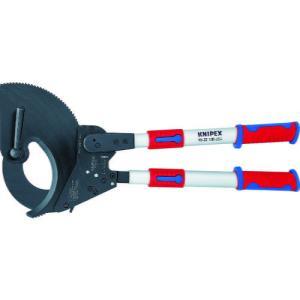 KNIPEX 9532−100 ラチェット式ケーブルカッター 650mm 9532-100 ( 9532100 )|haikanshop
