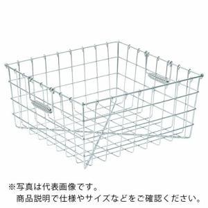 スギコ 18−8食器洗浄篭 手提付 400×300×195 ST-2 ( ST2 )|haikanshop